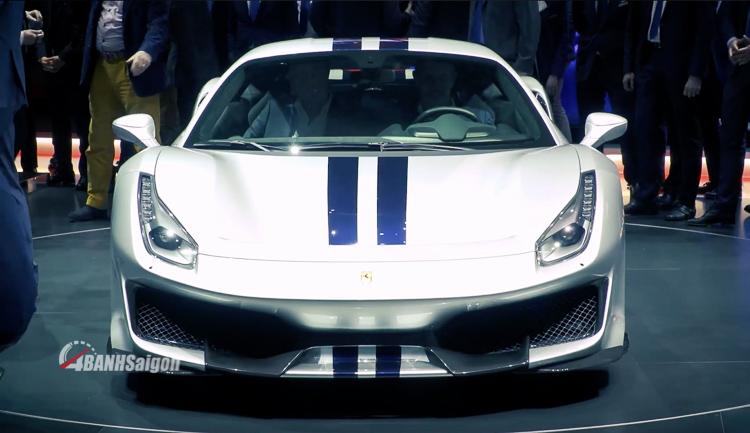 Ferrari 488 Pista Geneva Motor Show 2018