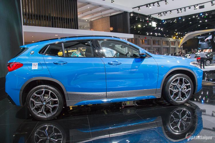 Chiếc BMW X2 2019 đầu tiên được trình làng tại ĐNÁ thuộc dòng X2M