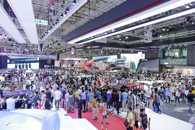 VietNam Motor Show 2018 hoành tráng với 185.000 khách, bán 880 xe