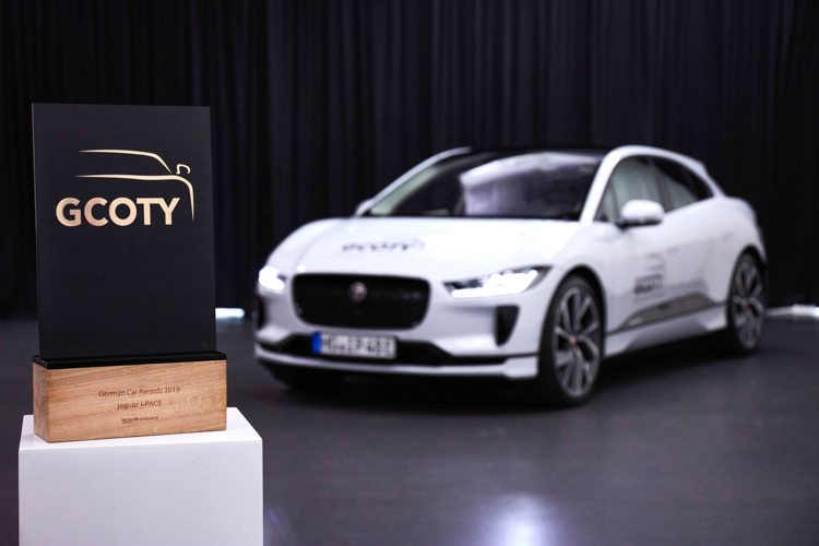 Xe điện JAGUAR I-PACE là mẫu xe xuất sắc nhất nước Đức 2019