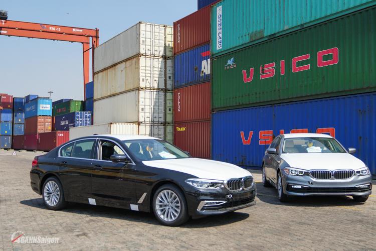 Lô xe BMW 520i 530i thế hệ mới chính thức cập cảng Sài Gòn