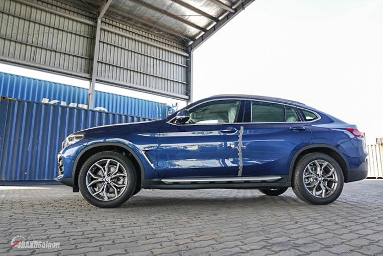 Lô xe BMW X4 2019 hoàn toàn mới đầu tiên cập bến Sài Gòn