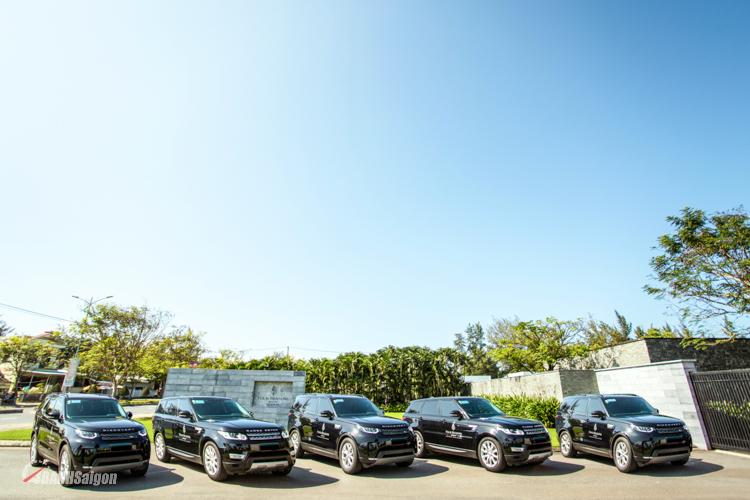 Land Rover bàn giao lô xe hơn 22 tỉ đồng cho Four Seasons Resort The Nam Hai