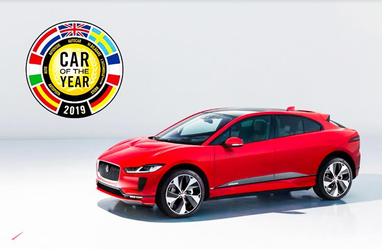 JAGUAR I-PACE dành giải thưởng xe của năm tại châu Âu