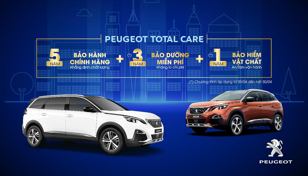 Peugeot ưu đãi lớn tháng 4 dành cho 2 mẫu 3008 & 5008