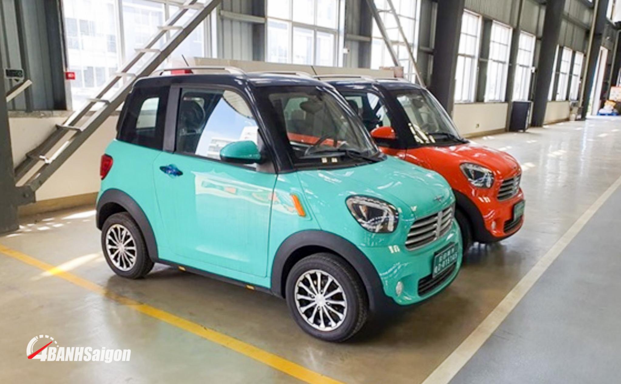 Xe ô tô điện của Thái Lan DT Motor gây sốc với giá bán 75 triệu đồng