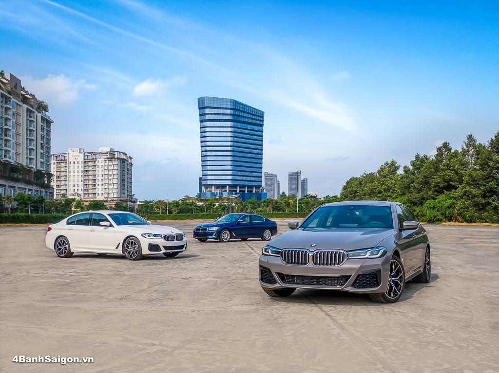 BMW 5 Series mới chính thức ra mắt tại Việt Nam kèm giá bán